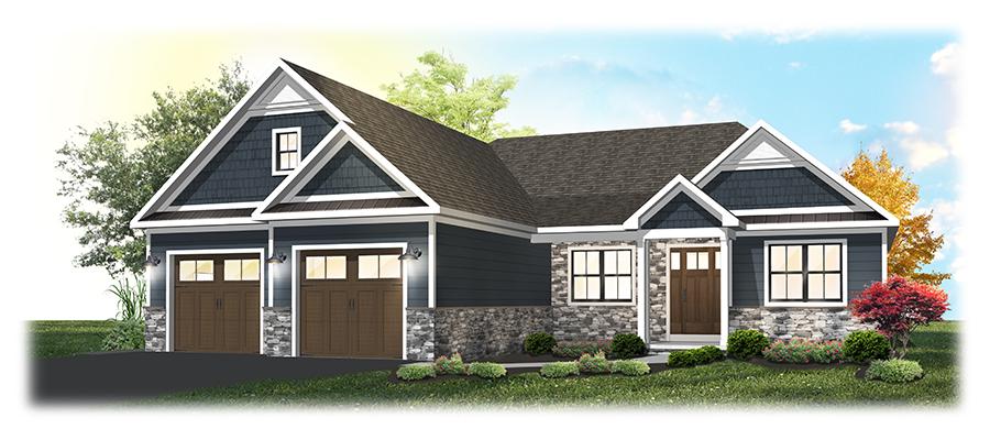 Custom Built Ranch Style Home
